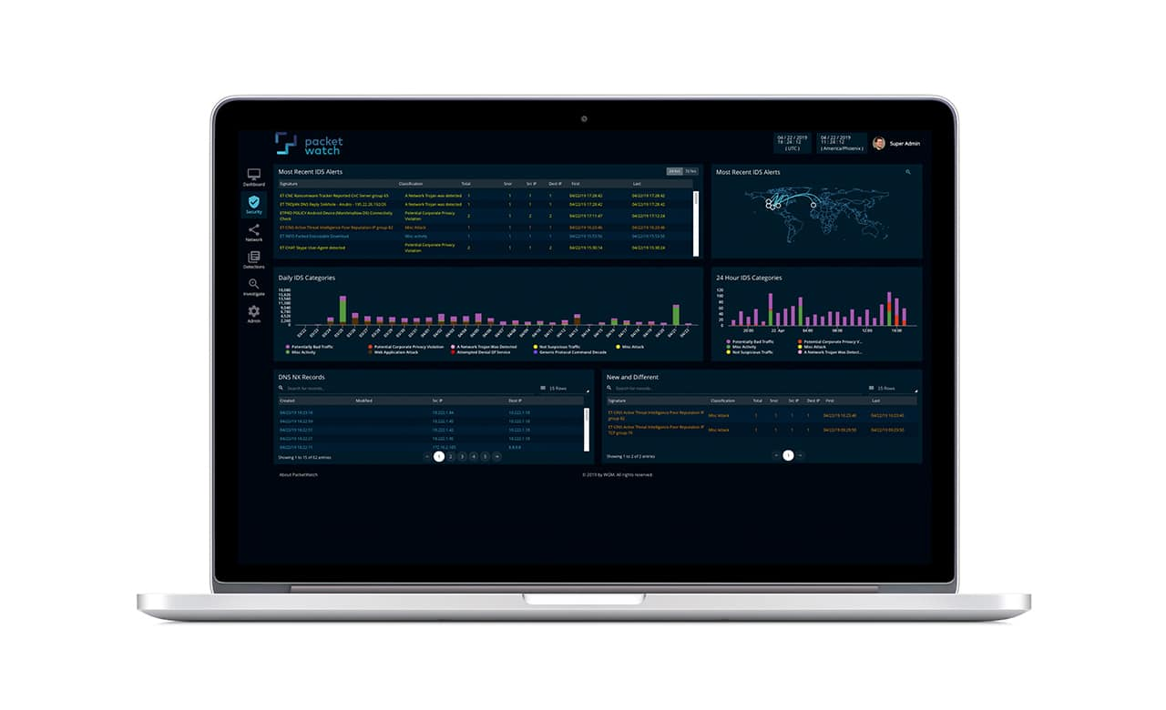 PacketWatch | Security Dashboard