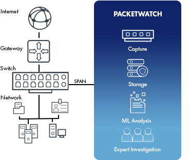 Network Diagram | PacketWatch