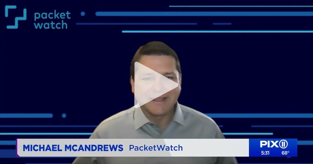 Pix11 News Talks with Michael McAndrews about Unemployment Payment Fraud